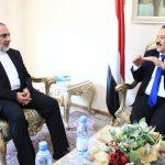 وزير الخارجية : يناقش مع السفير الإيراني أوجه التعاون الثنائي