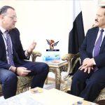 وزير الخارجية يلتقي الممثل المقيم لمنظمة الصحة العالمية
